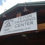 Teton Training Center's outside sign