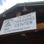 Teton Training Center's outside sign