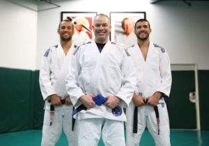 January 2017 - JC at his ICP (Instructors Certification Program). With Ryron & Rener Gracie.